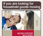 Worldwide movers - household goods moving